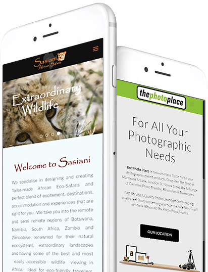 apple iphone mobile responsive
