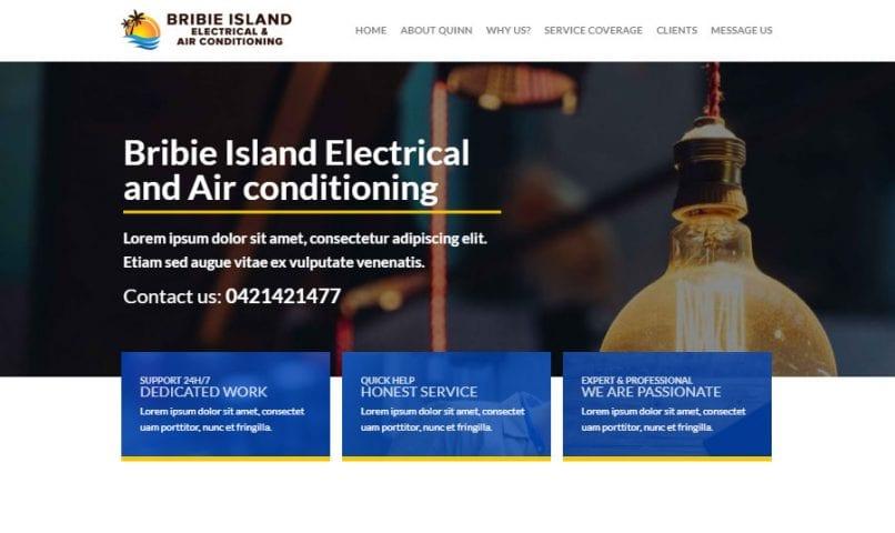 Home 30 Bribie Island Web Design