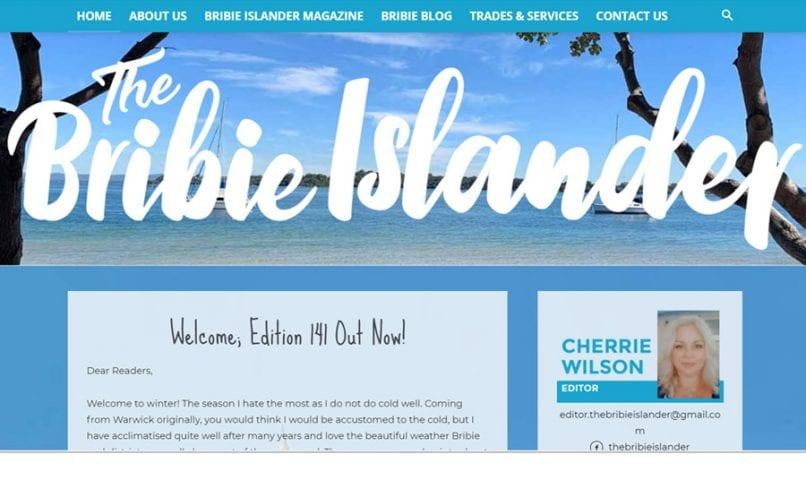 The Bribie Islander 1 Bribie Island Web Design