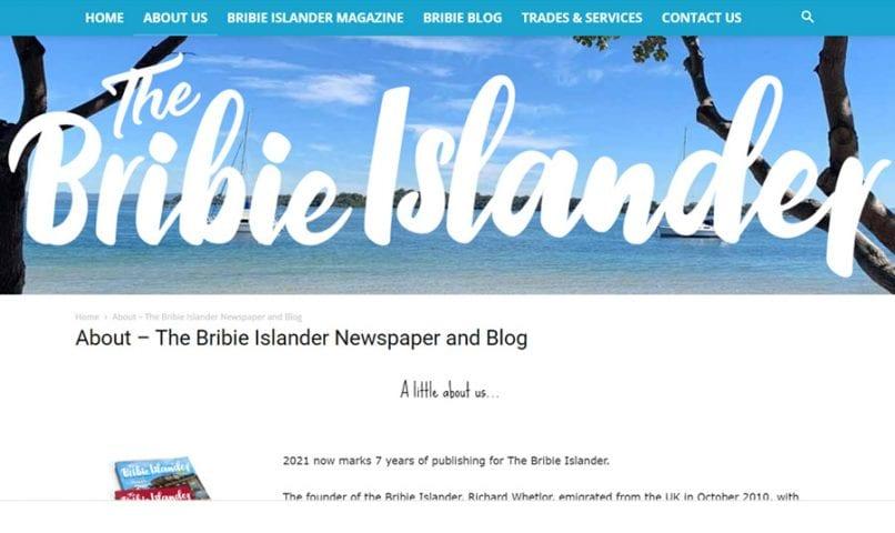 The Bribie Islander 3 Bribie Island Web Design