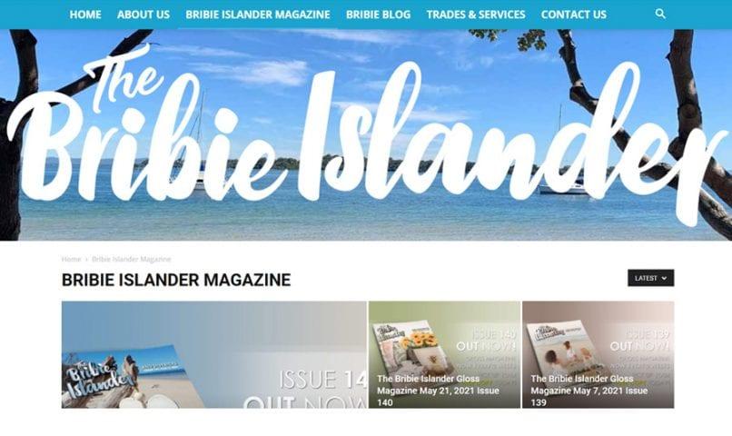 The Bribie Islander 5 Bribie Island Web Design
