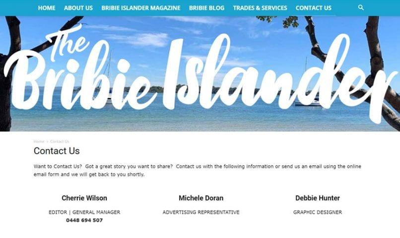 The Bribie Islander 7 Bribie Island Web Design